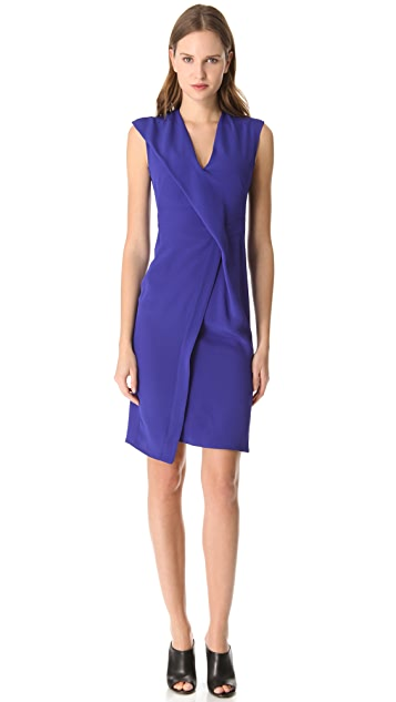 CoSTUME NATIONAL Drape Front Dress