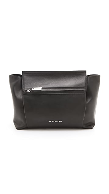 CoSTUME NATIONAL Fold Over Clutch