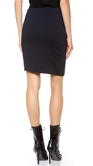 CoSTUME NATIONAL Wrap Short Sexy Skirt