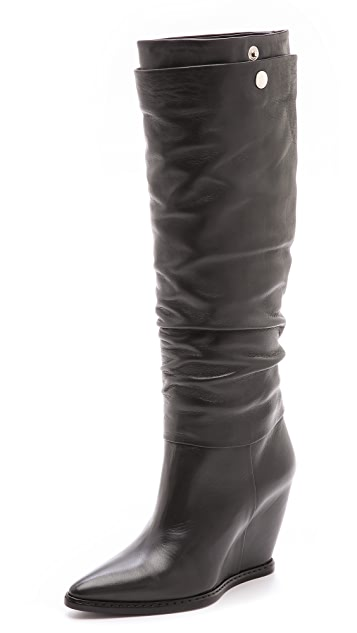 CoSTUME NATIONAL Wedged Boots