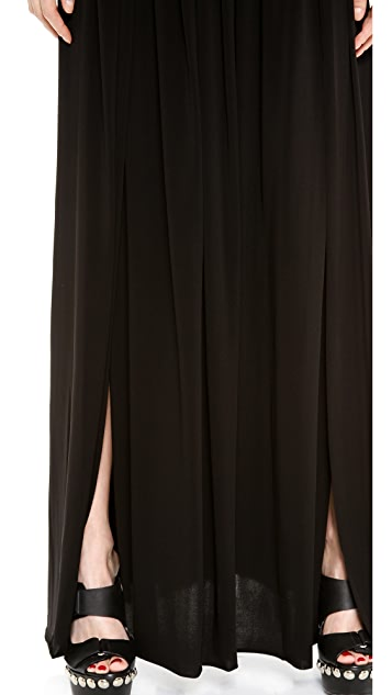 CoSTUME NATIONAL Maxi Skirt