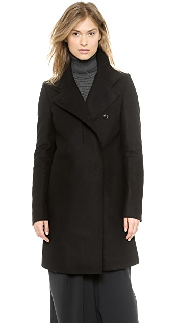 CoSTUME NATIONAL Raw Edge Coat