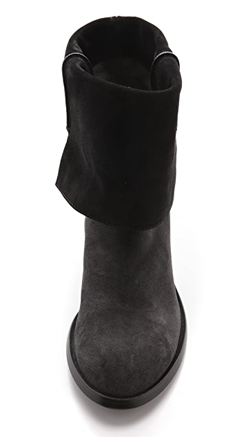 CoSTUME NATIONAL Fold Over Booties