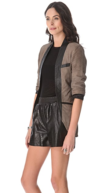 Cote By Improvd Betia Leather Blazer