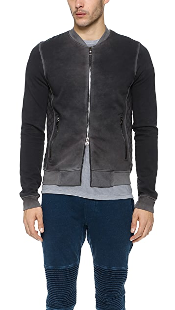 Cotton Citizen Quilted Bomber Jacket