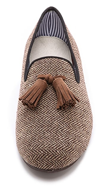 Charles Philip Costantino Slippers with Tassel