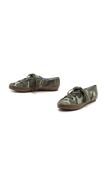 Charles Philip Bianca Camo Sneakers