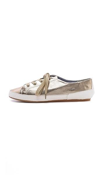 Charles Philip Bianca Metallic Sneakers