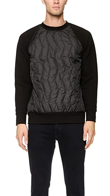 Christopher Raeburn Quilted Raglan Pullover
