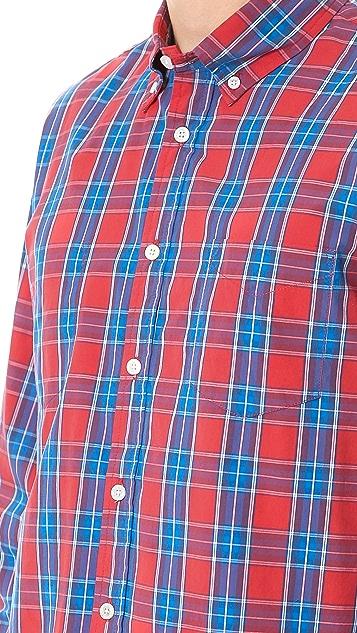 Creep Check Button Down Shirt