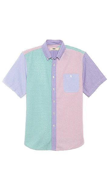 Creep Short Sleeve Button Down Shirt