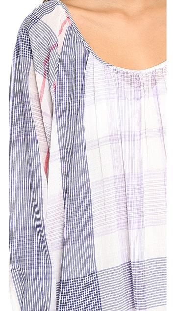 Christophe Sauvat Collection Check Cali Dress