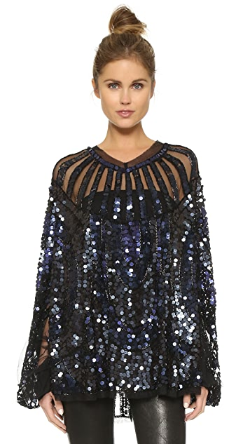 Christophe Sauvat Collection Maya Poncho