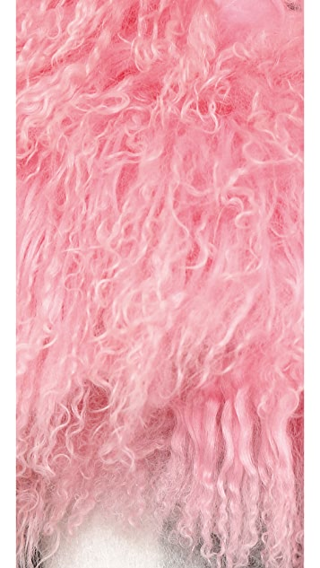 Charlotte Simone Candy Floss Wrap Scarf