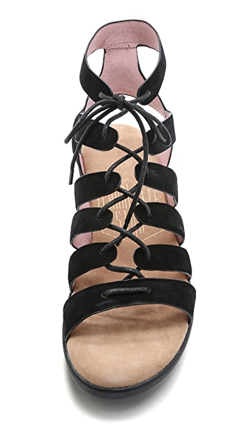 Charlotte Stone Amie Lace Up Sandals