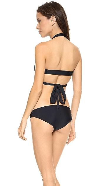 Citrine Swim Sapelo Bikini Top