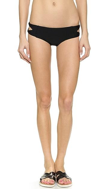 Citrine Swim Atoll Bikini Bottoms