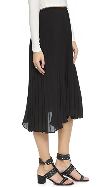 cupcakes and cashmere Santa Ana Pleated Skirt