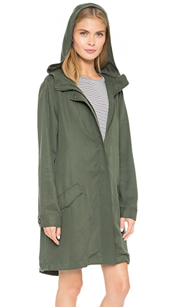 cupcakes and cashmere Bodega Hooded Coat