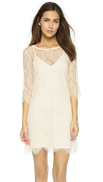 cupcakes and cashmere Marin Lace Dress