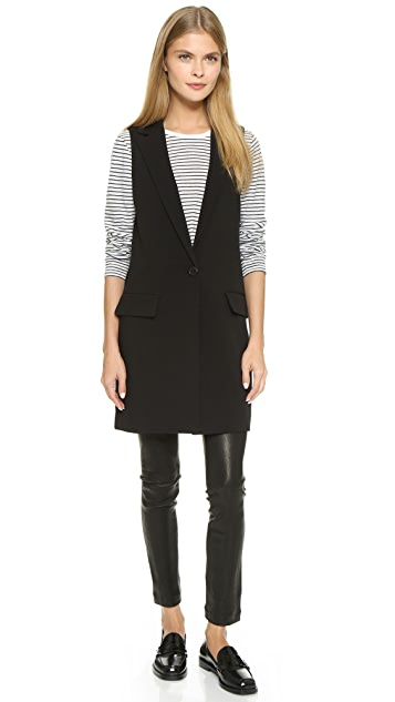 cupcakes and cashmere Fairfax Suiting Vest