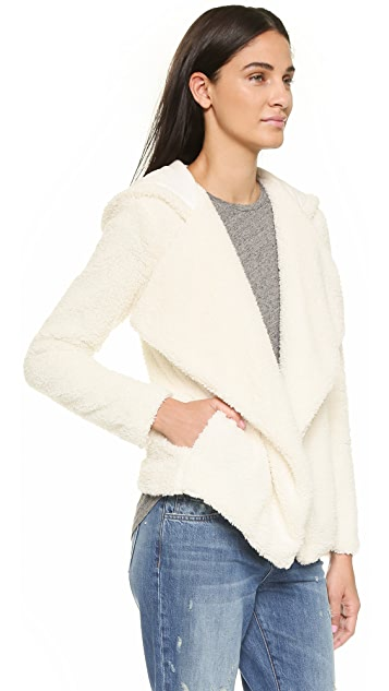 cupcakes and cashmere Rolling Fog Drape Jacket