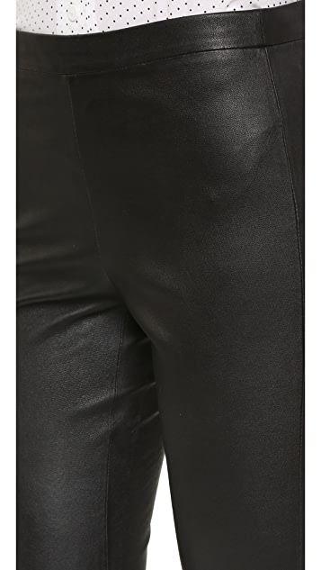 cupcakes and cashmere Scarlett Stretch Leather Leggings