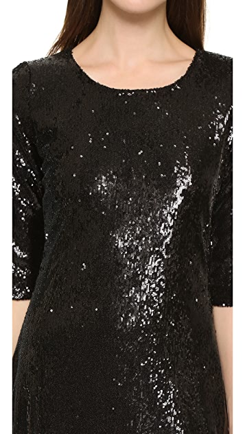 cupcakes and cashmere Coloumbus Sequin Dress
