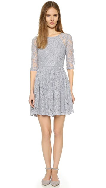cupcakes and cashmere Comet Lace Dress