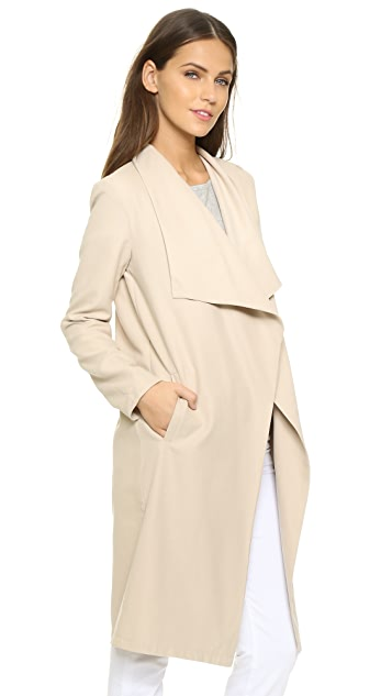 cupcakes and cashmere Laswell Twill Coat