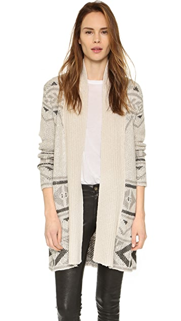 cupcakes and cashmere Lome Patterned Cardigan