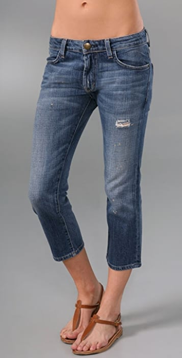 Current/Elliott The Slouched Cropped Jeans