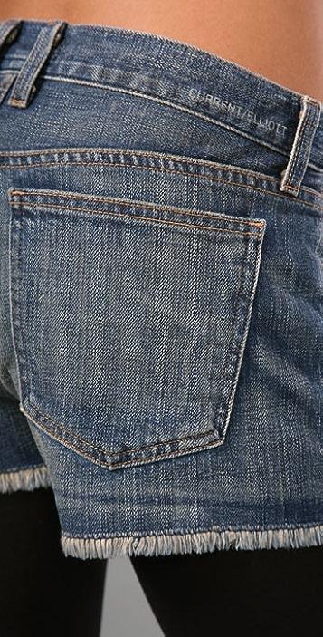 Current/Elliott The Boyfriend Shorts with Studs