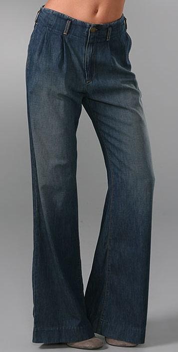 Current/Elliott The Paper Bag Trouser Jeans