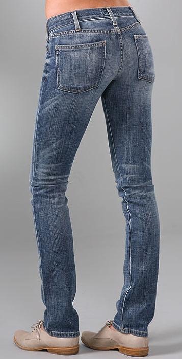 Current/Elliott The Straight Leg Jeans