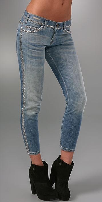 Current/Elliott The Crop Skinny Jeans