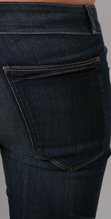 Current/Elliott The Cropped Legging Jeans