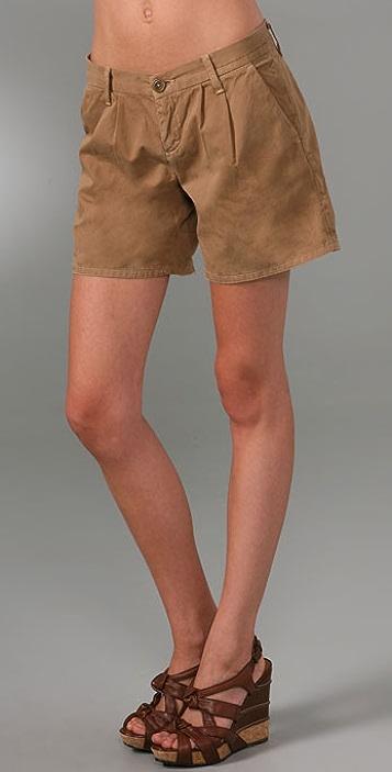 Current/Elliott The Trouser Roll Shorts