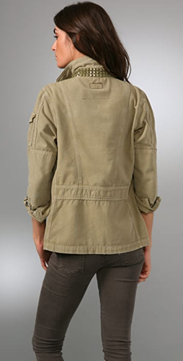 Current/Elliott The Studded Commander Jacket