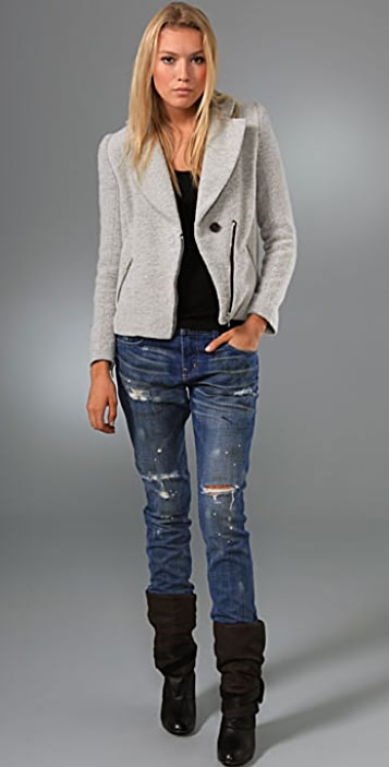 Current/Elliott The Super Slouchy Skinny Jeans