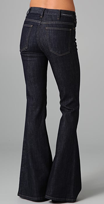 Current/Elliott The High Rise Bell Jeans