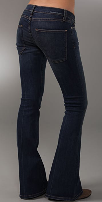 Current/Elliott Low Bell Jeans