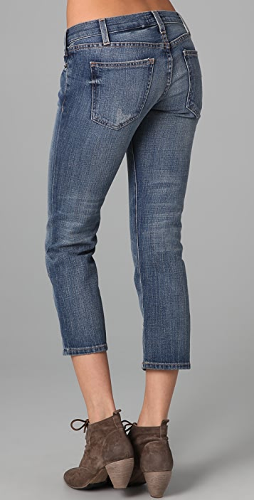 Current/Elliott The Matchstick Cropped Jeans