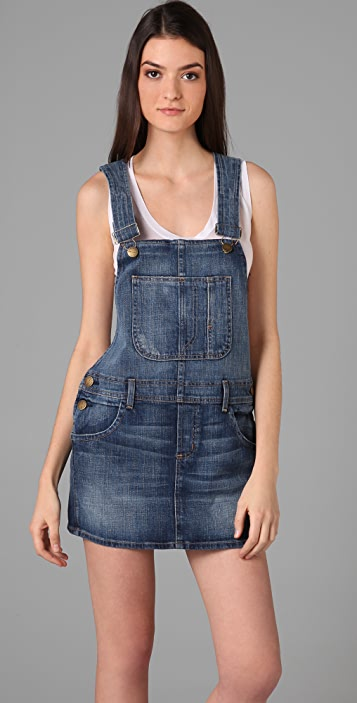 Current/Elliott The Overall Denim Dress