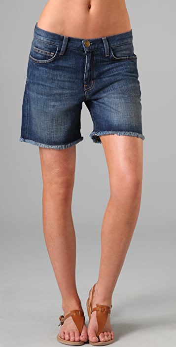 Current/Elliott Denim Rolled Shorts