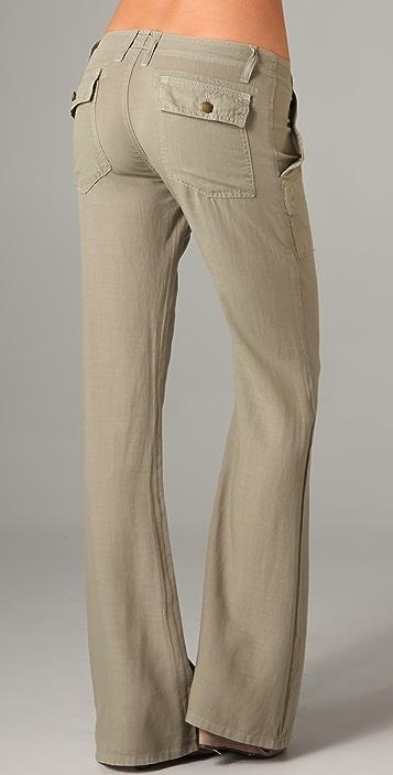 Current/Elliott The Wide Leg Army Pants