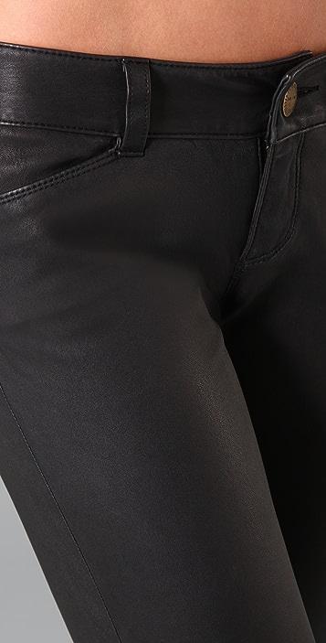 Current/Elliott The Leather Leggings