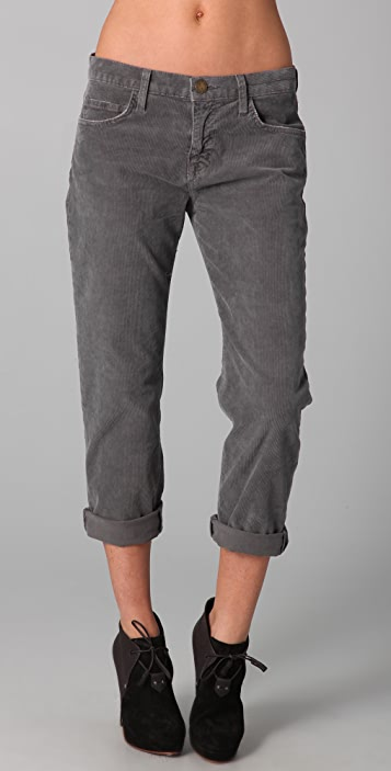 lace up in good looking hot sales The Boyfriend Corduroy Pants