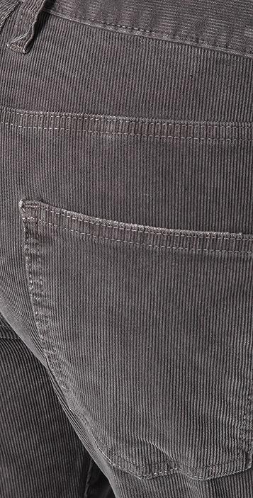Current/Elliott The Boyfriend Corduroy Pants