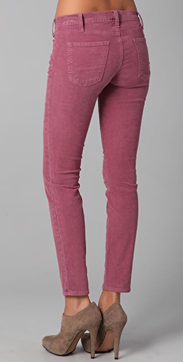 Current/Elliott The Ankle Corduroy Skinny Pants